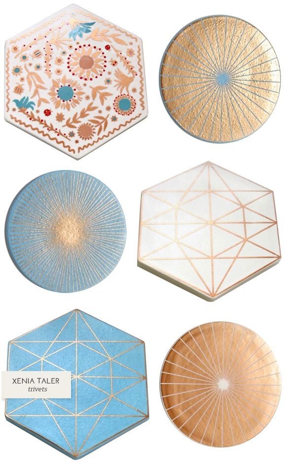 One Good Thing: Xenia Taler Trivets