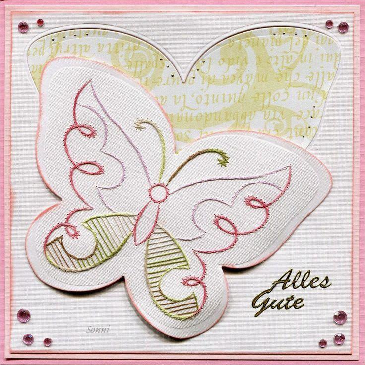 Gratis Stickvorlage a725 von Anns Paper Art, kombiniert mit einer Multischablone von Nellie Snellen