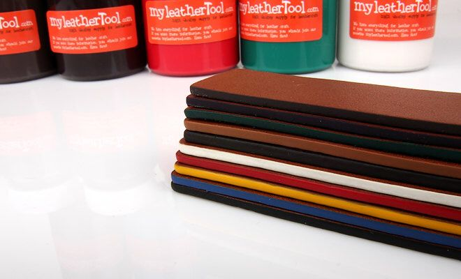 A personal favorite from my Etsy shop https://www.etsy.com/listing/224768301/matte-basic-color-leather-edge-paint