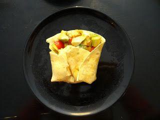 Tacos vegetariani, freddi: http://alincucina.blogspot.co.uk/2016/02/puliscifrigo-messican-style.html