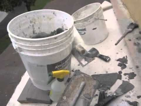 ▶ Stucco Patch Part (3 of 4) - YouTube