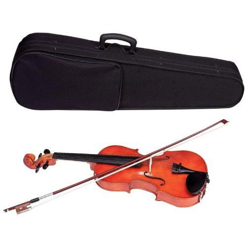 Maxam Full  Size Violin with Case  Bow ** Learn more by visiting the image link.Note:It is affiliate link to Amazon.