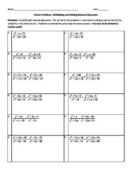 The 25+ best Simplifying rational expressions ideas on Pinterest ...