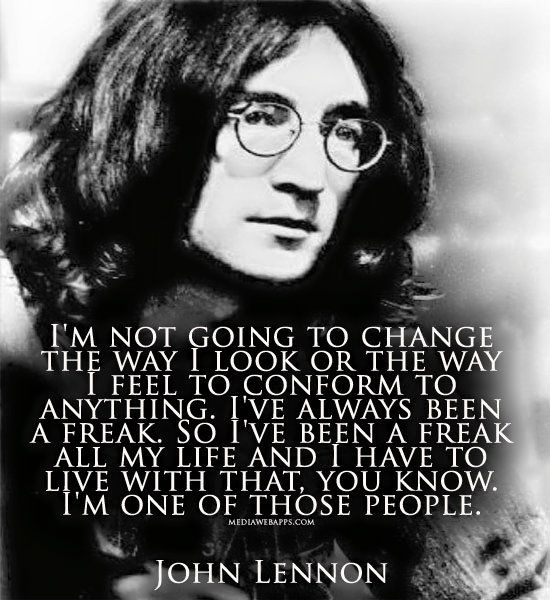 john lennon essay Read this essay on john lennon- an inspiration come browse our large digital warehouse of free sample essays get the knowledge you need in order to pass your.