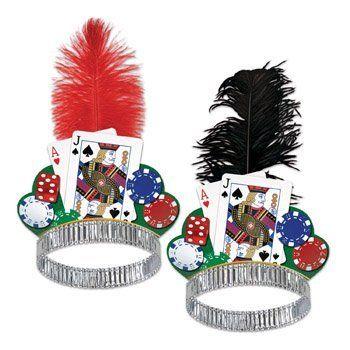 Casino Night Tiara Party Accessory by Beistle, http://www.amazon.com/dp/B00C69IHOO/ref=cm_sw_r_pi_dp_g-Fzrb0PGARAV