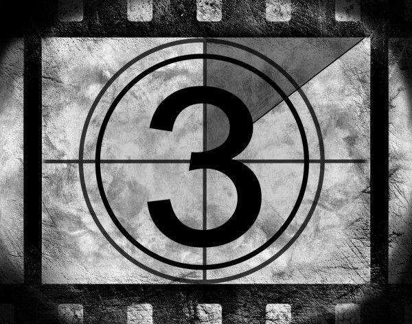 Cuenta Regresiva Pelicula 3 Imagen De Stock Film Countdown Film Countdown Numbers Countdown