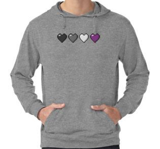 """""""Asexual Pixel Hearts"""" by LiveLoudGraphic   Redbubble"""