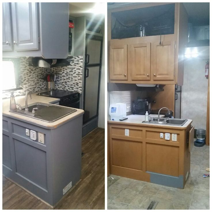 Kitchen Makeover For About 100 Give Your Orange Oak: 1000+ Ideas About Rv Remodeling On Pinterest