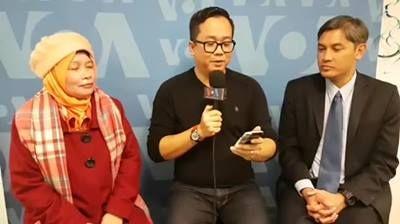 Ikuti reuni mini mantan wakil kepala sekolah SMAN 1 Budi Utomo, Jakarta dengan mantan siswa yang jadi profesional di Amerika