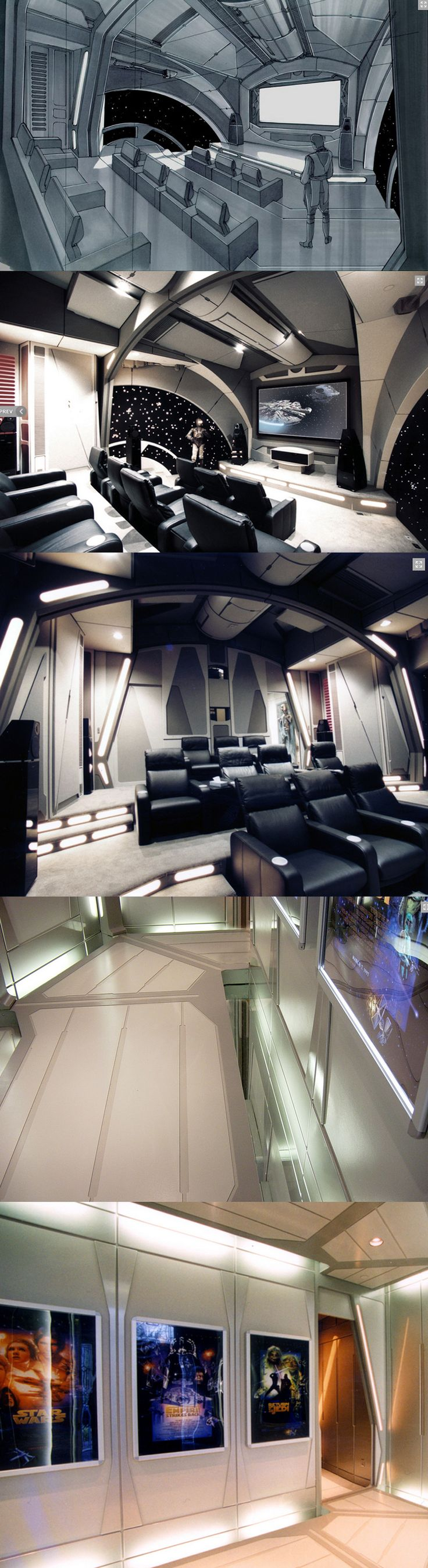 Star Wars Home Theater!! Wow! i want this!!