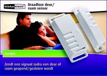 De AMST-606 is een magneetsensor waarmee u ramen en deuren kunt beveiligen. De sensor werkt volledig draadloos, u hoeft geen centimeter bedrading aan te leggen. Als het raam of de deur wordt geopend, zendt de AMST-606 een signaal naar een van de KlikAanKlikUit A-ontvangers. http://www.vego.nl/klikaanklikuit/25/amst_606.htm