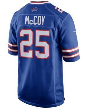 Nike Men's LeSean McCoy Buffalo Bills Game Jersey - Blue XXL