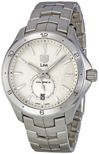 TAG Heuer Men's WAT2111.BA0950 Link Silver Dial Watch by TAG Heuer @ TAG-Heuer-Watches .com