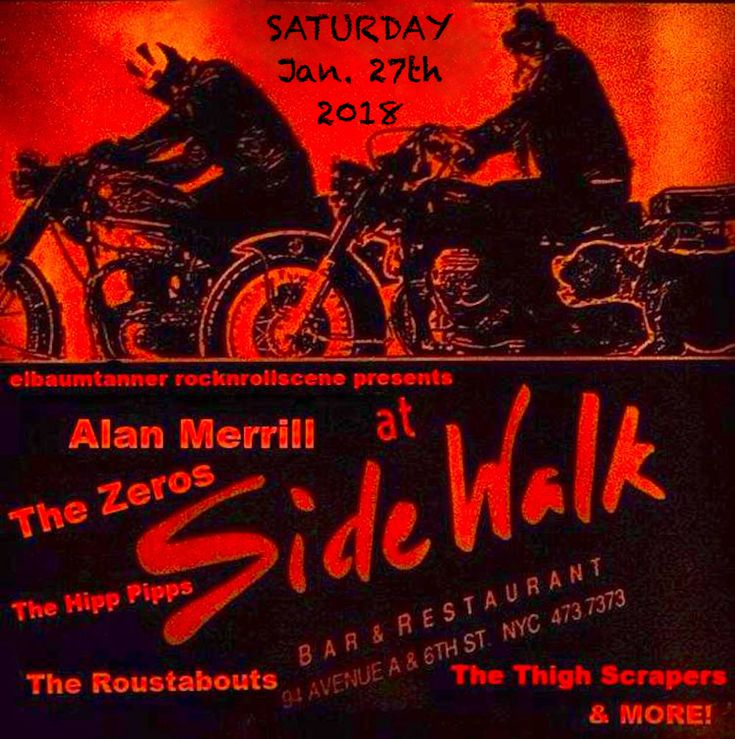 141 best Alan Merrill concert flyers images on Pinterest Flyers - concert flyer