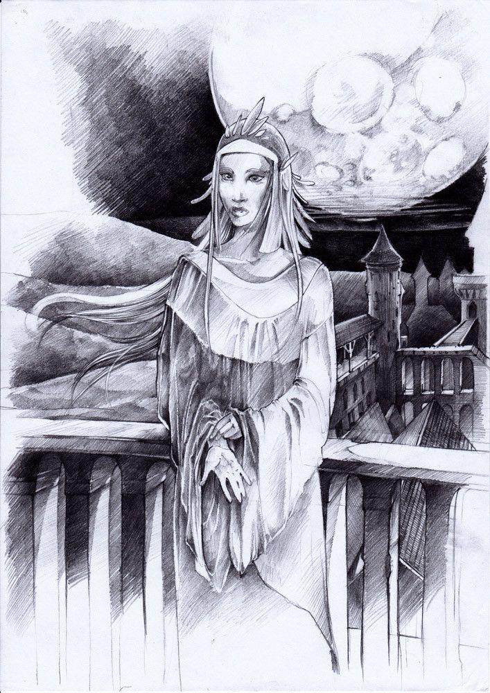 Fantasy drawing by #minkulul More of my works: http://minkulul.deviantart.com/