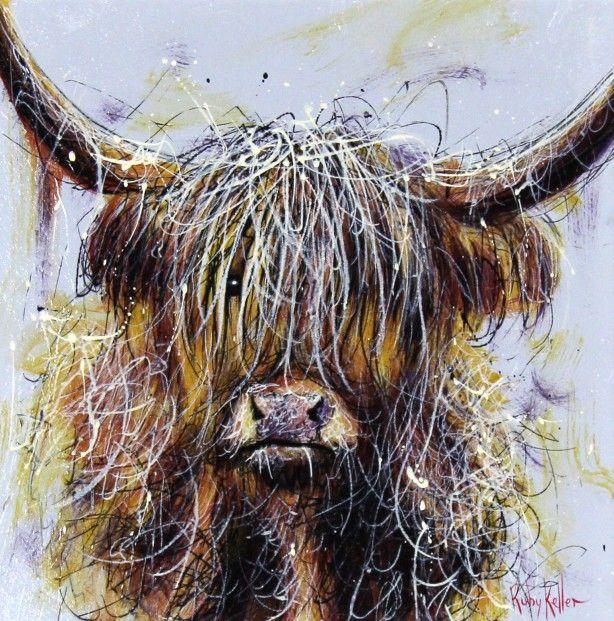 Ruby Keller, Fringe I, Acrylics | Contemporary Scottish Art