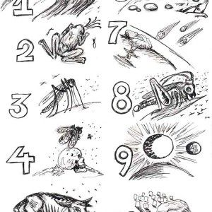 10 Plagues Of Egypt Picture Coloring Page