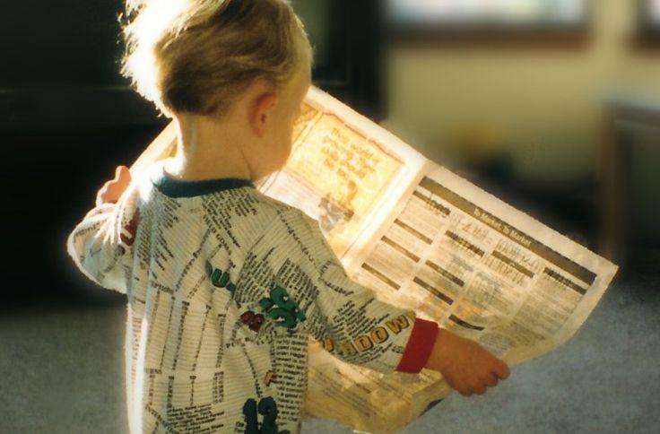 Dziecko-z-gazeta