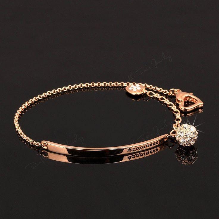 CZ Diamond Ball Fashion Charm Bracelets //Price: $24.88 & FREE Shipping //     #love #crystals