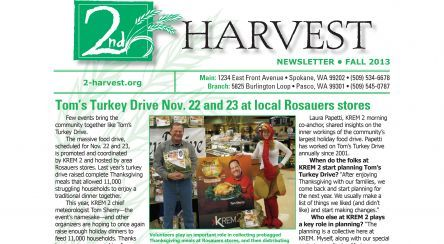 Here is a great charity if you live in  Eastern Washington and North Idaho, Second Harvest! Second Harvest was founded in 1971, leads a network of 250 neighborhood food banks and meal centers throughout Eastern Washington and North Idaho. Second Harvest provides 1.7 million pounds of donated food each month to help feed hungry people. #Charity #feed the hungry