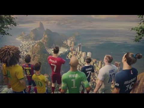 Mundial Brasil 2014 WC Nike Commercial 2014: The Last Game ft. Cristiano Ronaldo, Neymar , Rooney, Zlatan, Iniesta