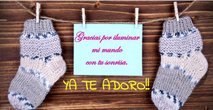 Frases para bebés recién nacidos en postales personalizadas.