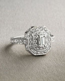 O2703 Penny Preville Emerald Cut Ring