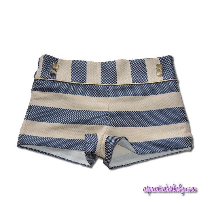 Pantalón corto Laura Montaño mod. Zafiro.