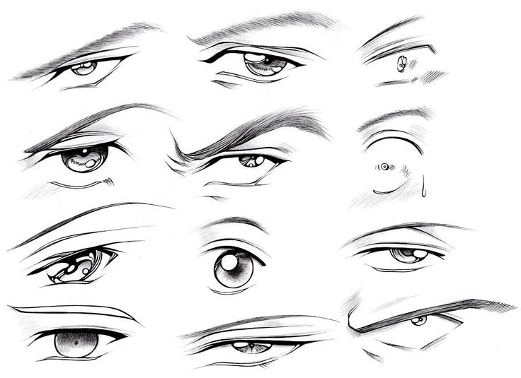 How to Draw Male Eyes (Part 2) – Manga University Campus Store