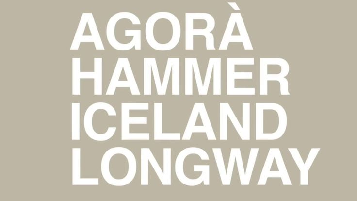 The Catalogue of the New Items: AGORÀ, HAMMER, ICELAND, LONGWAY is now available, download it on http://bit.ly/Segis-Catalogue-News-2017