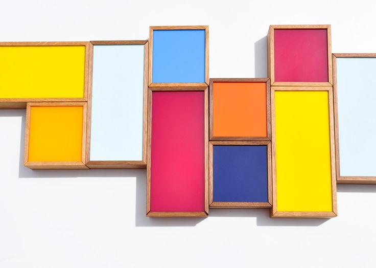 Oblong Color Chip Box