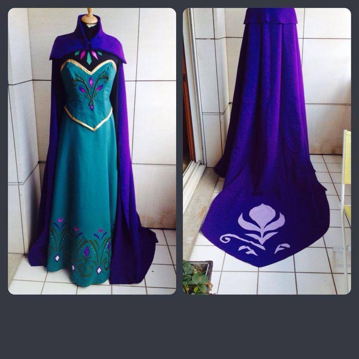 Elsa coronation dress by AsheDalmasca.deviantart.com on @deviantART