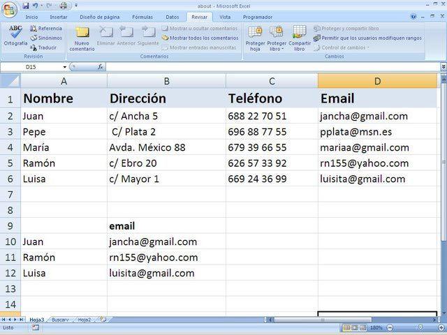 Conoce y practica estas acciones de Excel en contabilidad: Usar la función BuscarV