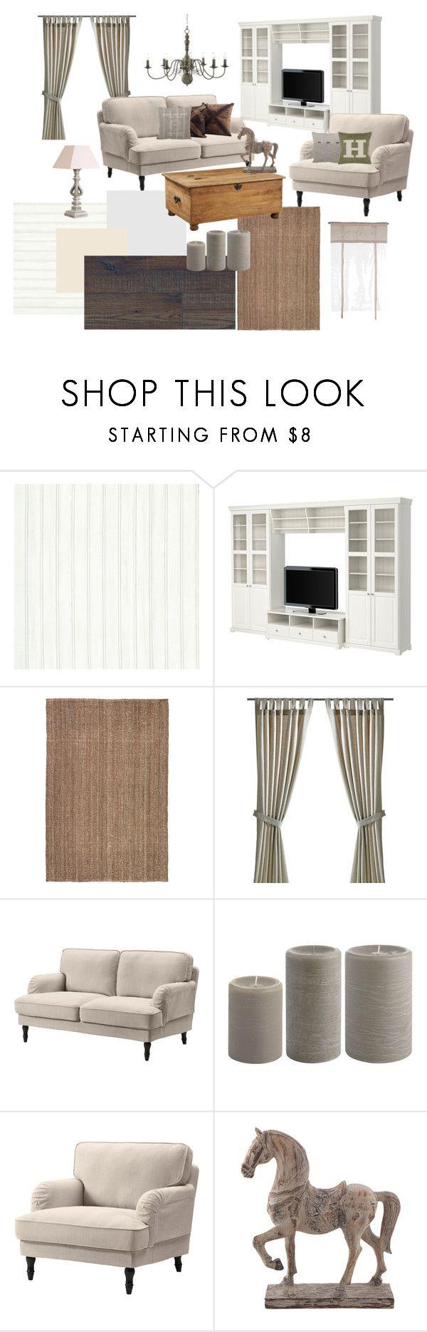Rusztikus nappali by zs-salamon on Polyvore featuring interior, interiors, interior design, home, home decor, interior decorating and Universal Lighting and Decor