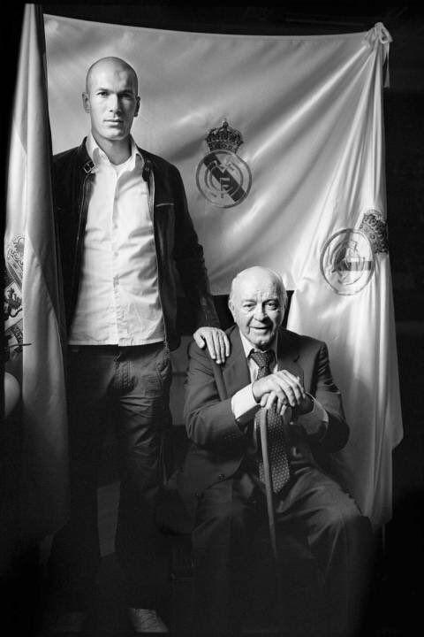 ..._Zidane & Di Stefano. Real Madrid