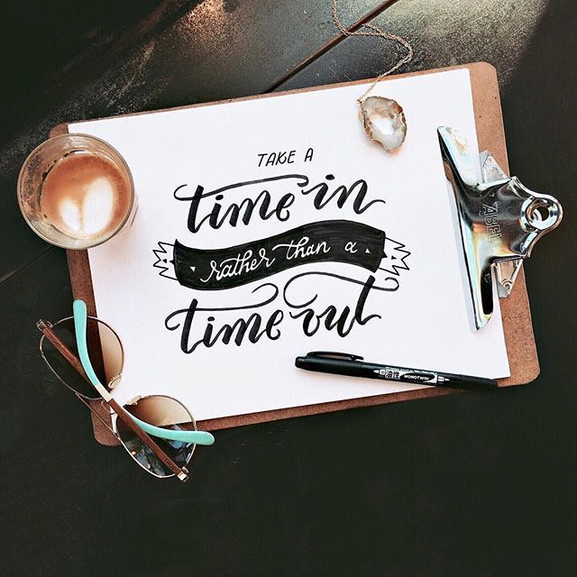 Take a time in rather than a time out - What's this mean, you say? Well, if you are a parent, a spouse, a daughter/son, or in the workplace (or perhaps all of those), then you know that those around you can misbehave/stress out/freak out/begin to cry uncontrollably/you name it. Am I right? - Here's the gist of taking a time in rather than a time out: instead of sending your child to their room to stew in their stress hormones, shutting down your spouse verbally or by walking away, or cri