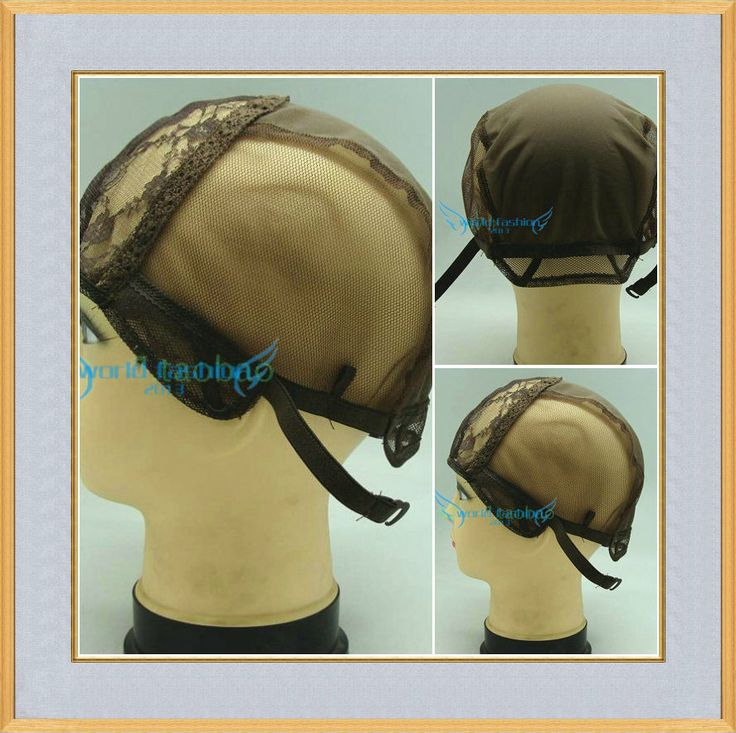 Free Shipping Jewish Base Wig Caps For Making Wigs 5pcs Per Lot Glueless Wig Caps Adjustable Strap On the Back $22.50