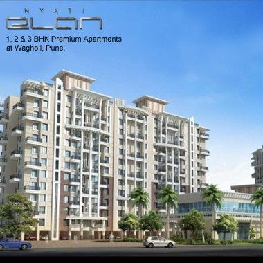 Nyati Elan - 1, 2 & 3 BHK premium apartments by Nyati Group at Wagholi, Pune Special Festive Offers!  To Know more & Enquire now @ http://www.puneproperties.com/nyati-elan-new-project-wagholi-flats.html #PuneProperties #FlatsinPune #ApartmentsinPune #FlatsinWagholi #ApartmentsinWagholi