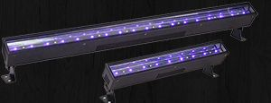 BlueBar Series - A Rugged, Truss-Mountable Black Light LED Fixture Series That Crushes The Competition