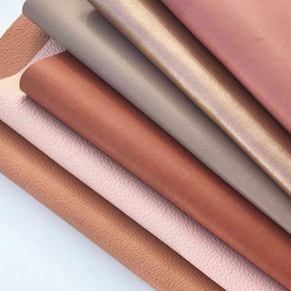 New Leather Tans . . . #leather #leatherinterior #tan #roseblush #design #interior #interiordesign #metallic #textures #textiles #threadcountinc #threadcountleathers