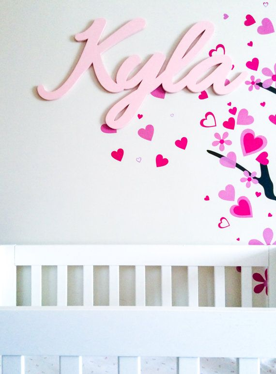 Baby Name Plaques For Bedroom: 14 Best Handmade Decor -Gurawood Designs Images On