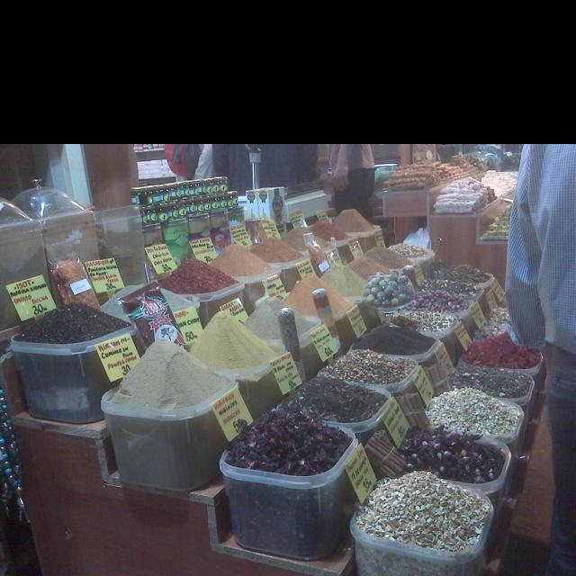 Instanbul, mercato delle spezie