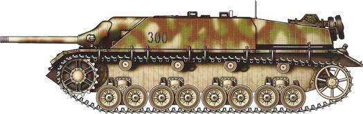 German Camouflage Jagdpanzer IV Panzer Grenadier Division Brandenburg – Germany, April 1945