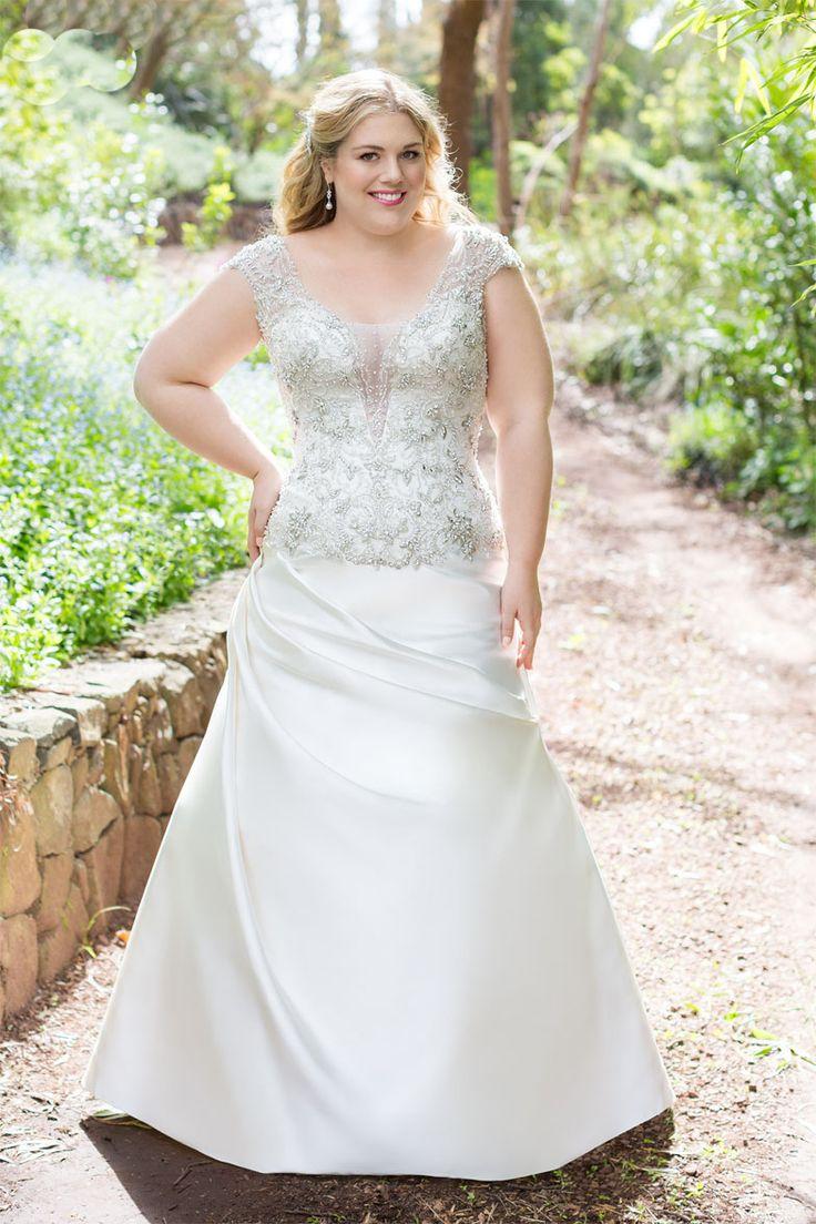 27 best Plus Size Wedding Dresses images on Pinterest | Wedding ...