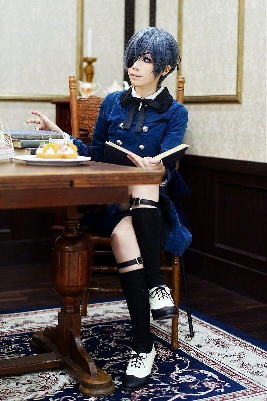Kuromitu(黒蜜) Ciel Phantomhive Cosplay Photo - WorldCosplay