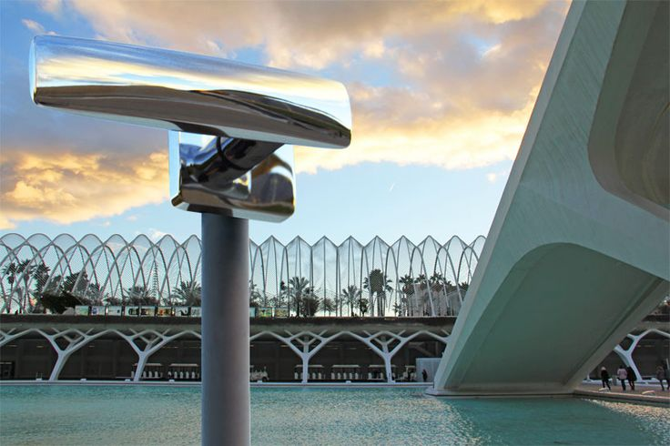 as the sun sets in valencia, 'bold' takes a tour of the city of arts and sciences complex by santiago calatrava.