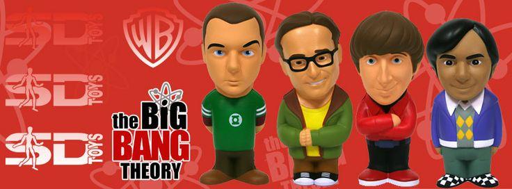The Big Bang Theory - Stress dolls - Figuras antiestrés 14cm - #SDToys #AkibaClub #TBBT #TheBigBangTheory