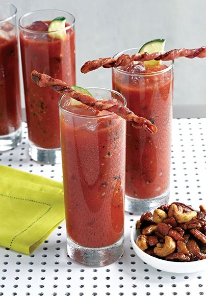 Bacon Swizzle Sticks (Recipe) Courtesy of the book Bacon Nation by Peter Kaminsky and Marie Rama