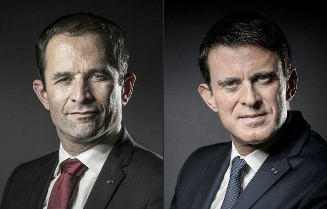 Qu'il se nomme Benoît Hamon ou Manuel Valls, le candidat socialiste serait nettement distancé au 1er tour de l'élection présidentielle, toujours dominé par Marine Le Pen, selon un sondage Ipsos Sopra steria pour France 2 , diffusé dimanche.