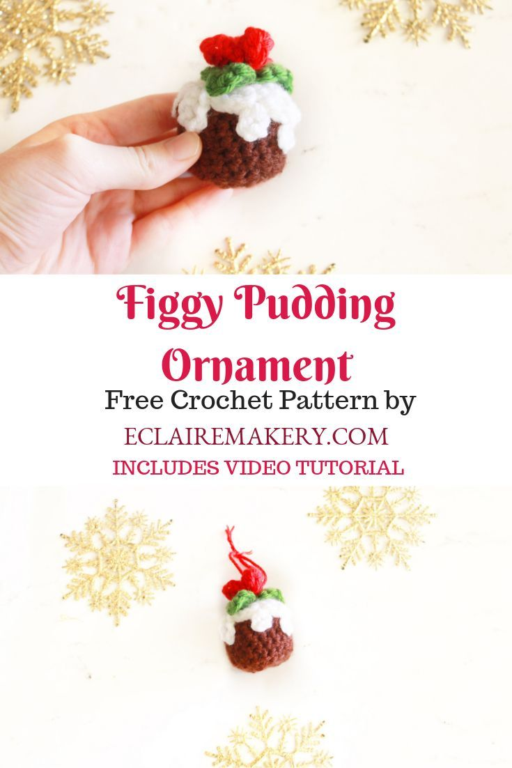 Ready to spread some Christmas cheer? This FREE crochet Figgy ...